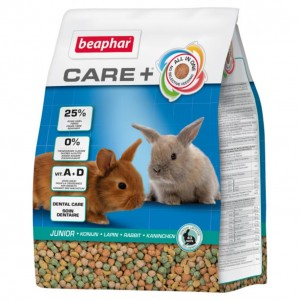 Beaphar Care + Rabbit Junior 250g karma dla królika granulat